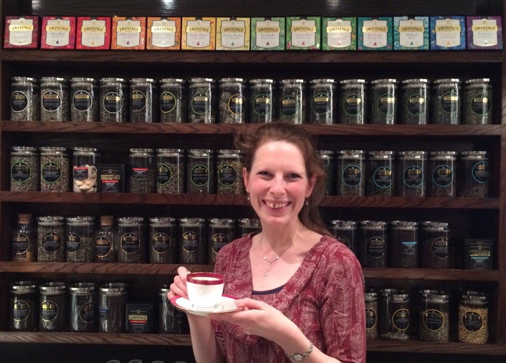 Perfect Cuppa English at Twinings 216 Strand