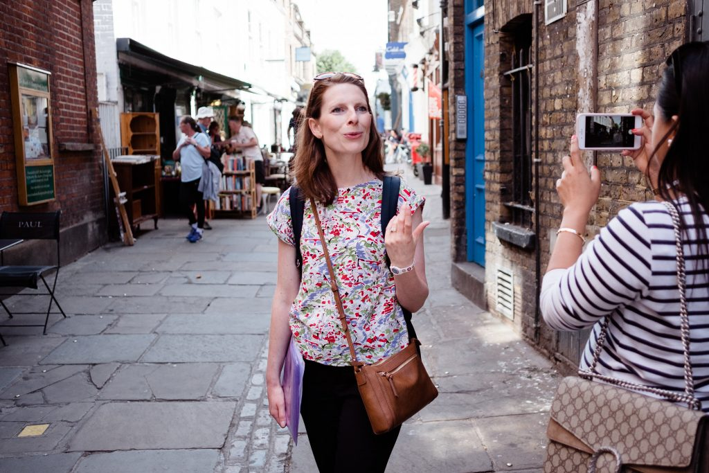 Victoria Rennoldson, Perfect Cuppa English® Hampstead Discovery Walk