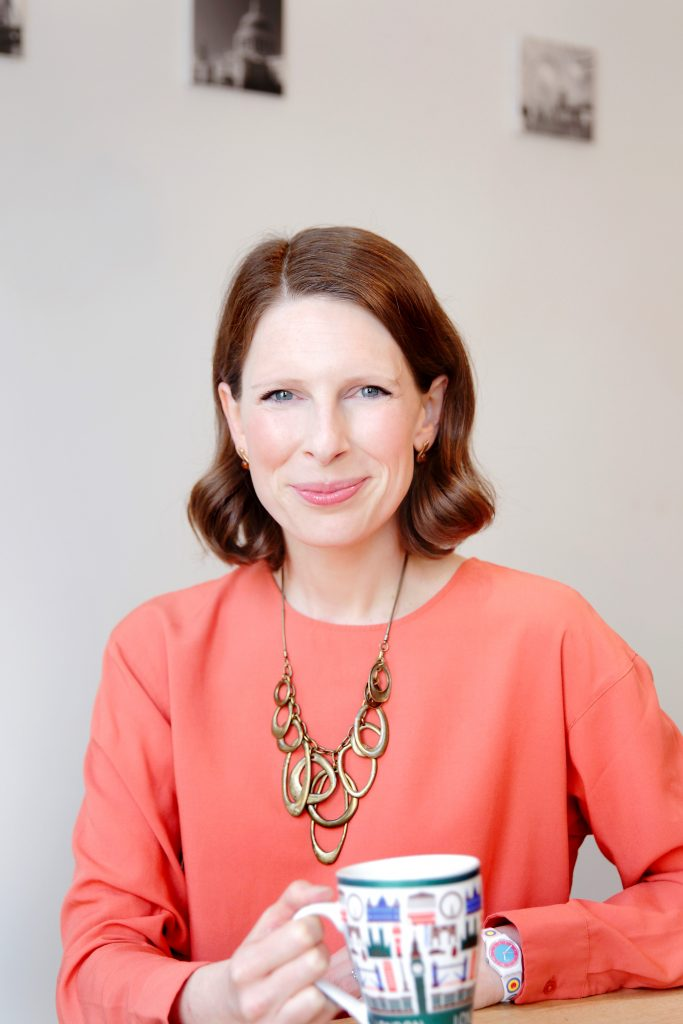 Victoria Rennoldson, Founder & Director of Perfect Cuppa English