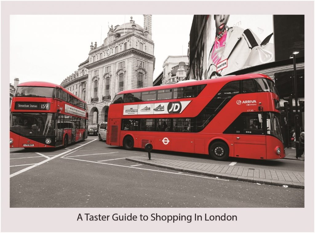 Guide to shopping in London